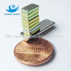 Neodymium Iron Boron magnet with smaller size thinner magnet