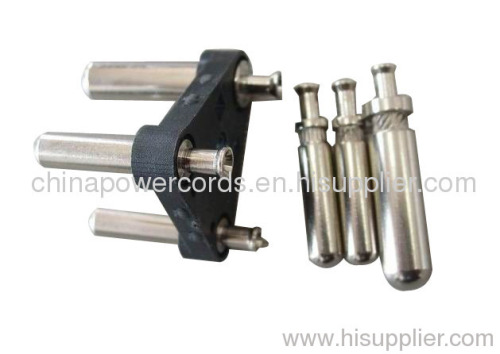 India electrical plug inserts 6amp