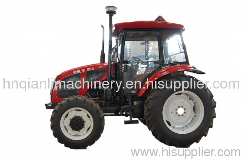tractor; farm tractor; wheel tractor; agriculture tractor