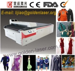 Automaitc Laser Cutting Machine For Clothes,Garment,Apparel