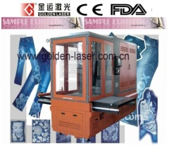 Germany Galvanometer Laser Engraving Machine For Jeans,Leather