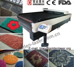 Large Size Floor Mat Rug Carpet Laser Cutting Machine