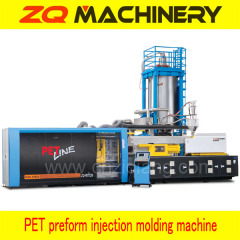 high speed PET preform injection moulding system
