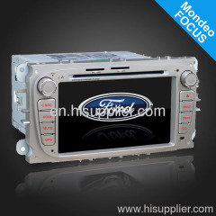 7inch gray color ford focus car dvd player gps navigation bt dvb-t mp3/4 mpeg TV vcd cd usb sd slot am/fm