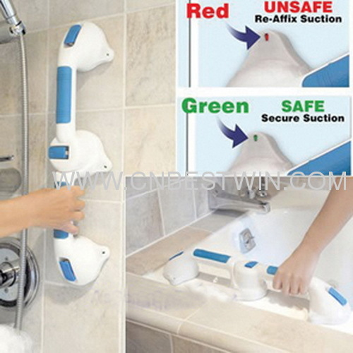 TV SHOPPING DELUXE BATH SAFETY GRIP HANDLE