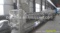 PE plastic pipe production line