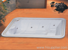 hydro massage; built-in hot tubs; free hot tubs