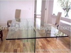 clear table glass