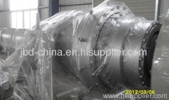 HDPE sewer pipe extrusion line