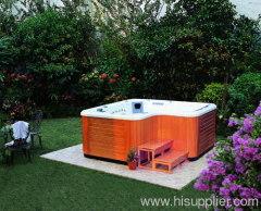 Acrylic outdoor spa hot tub