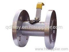 Flage ball valve