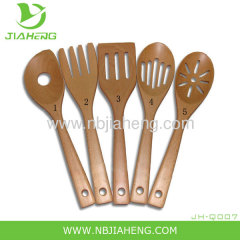 Mountain Woods 6 Piece Wooden Utensil Spoon Set