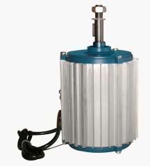 Three phase air conditioner motor