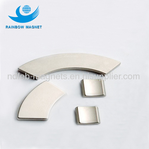 sensors magnets. Neodymium arc magnet. special shaped magnet
