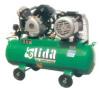belt-driven air compressor
