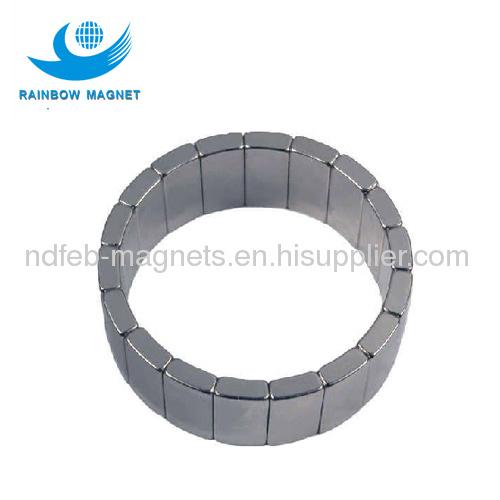 Neo Magnet Motor Magnets Permanent Neodymium Segment