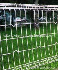 double circle/ring wire fence