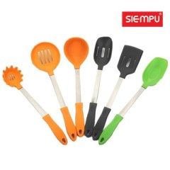 Silicone Spoon Turner Set (6PCS) (SP-SG009 to SP-SG014)