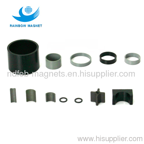 Bonded compression round neo magnet