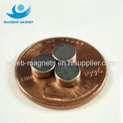 Neodymium Iron Boron round magnets