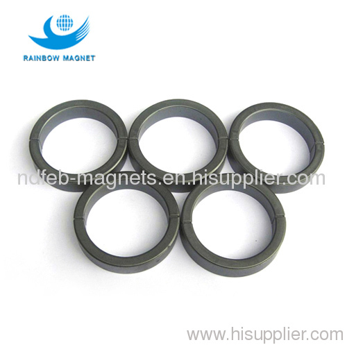 Industrial bonded compression ring NdFeB magnet