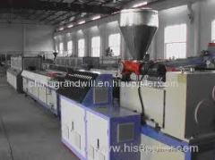 Balcony WPC Profile Production Line