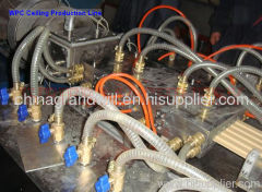 Flowerbed WPC Profile Production Line
