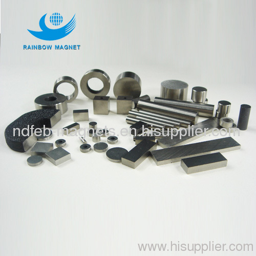 permanent magnetic CAST AlNiCo magnets