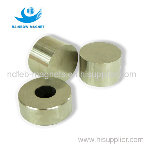 cylinder permanent magnetic alloy of CAST AlNiCo magnets