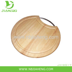 ROUND SHAPE WOOD CUTTING BOARD FOR CHEESE