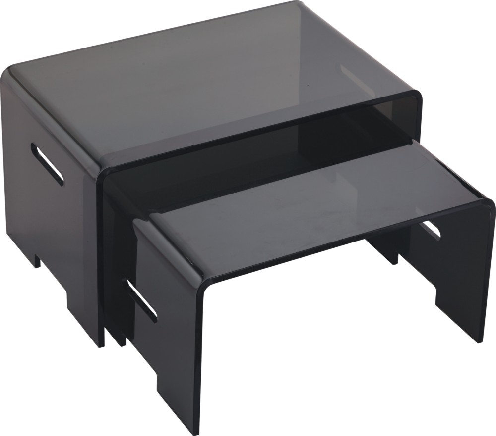 Oblong Black Acrylic Coffee Table Manufacturer Supplier