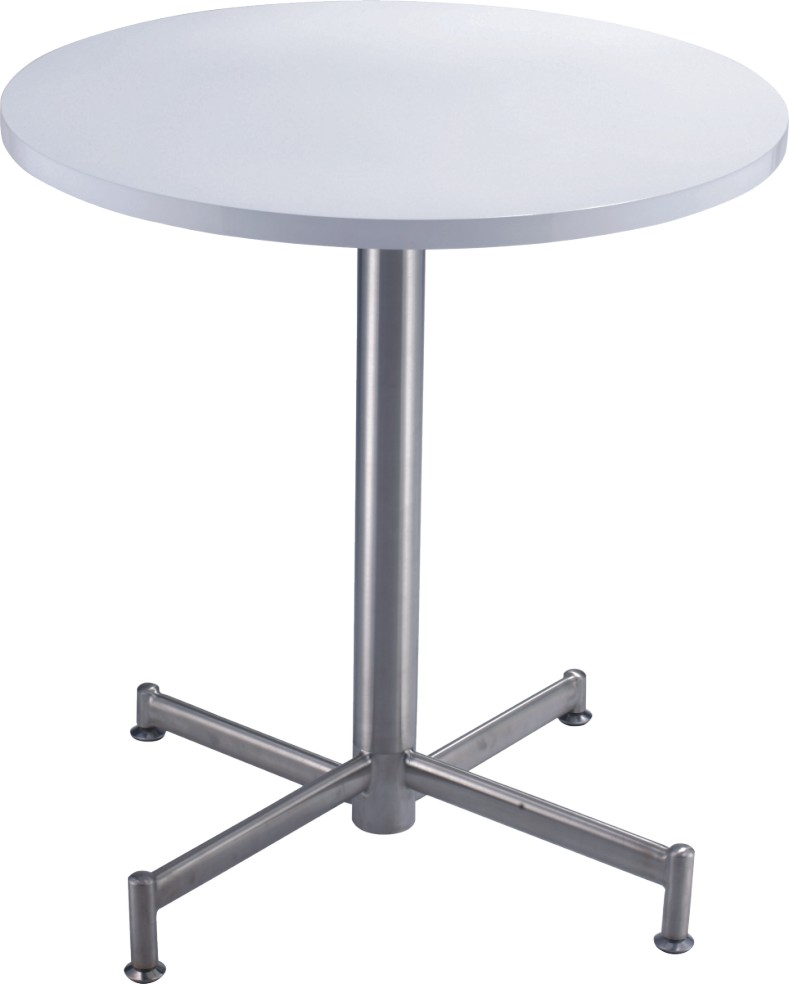 Luxury White Wooden Top Round Tables Bar Pub Table From