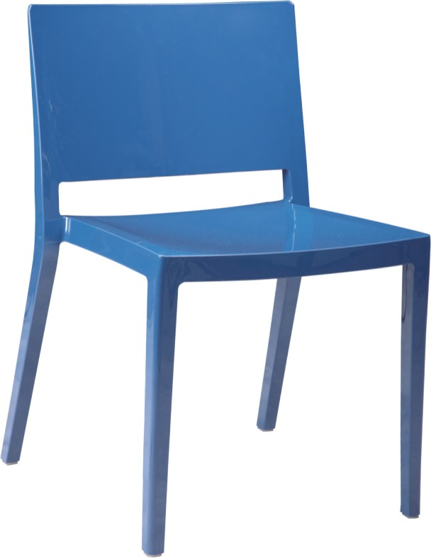 Fashion Children Mini Chair Blue Plastic Desk Room Furniture Side Chairs For Kids Dining Chairs