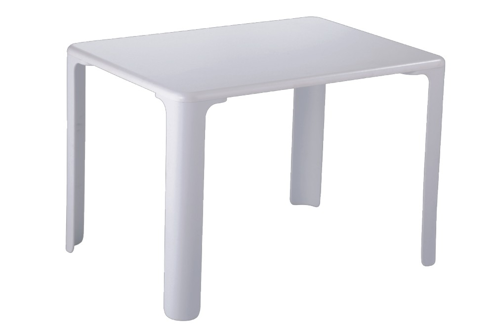 Practical White Plastic Simple Kid S Table Small Children