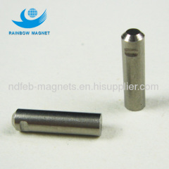 Sintered aluminum nickel and cobalt magnets