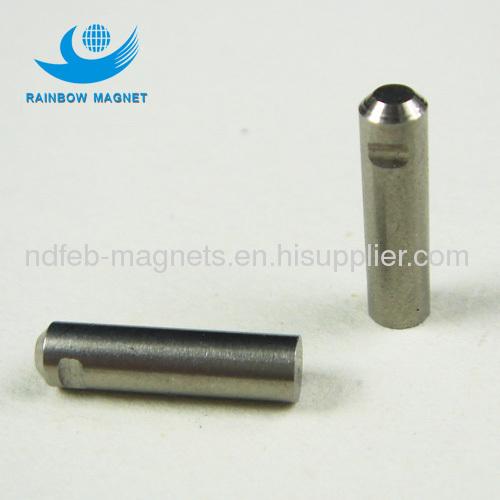 Sintered aluminum nickel and cobalt magnets