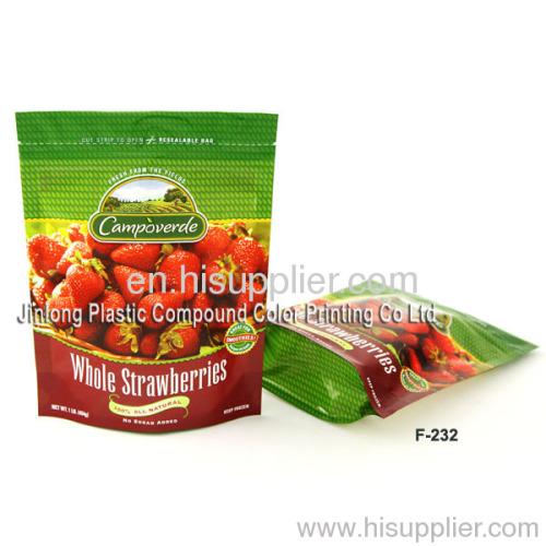 strawberry packaging bag