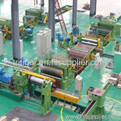 Slitting Line for Decoiling, and Recoiling of Metal Sheet
