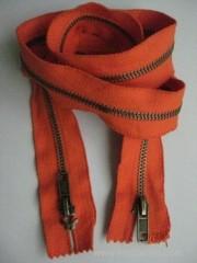 FR aramid fiber zipper