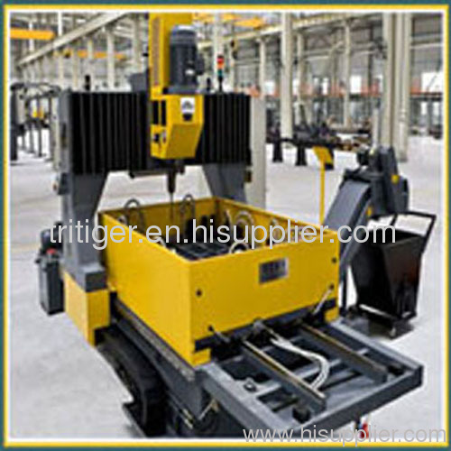 CNC Drilling Machine for Plates with Double Table and High