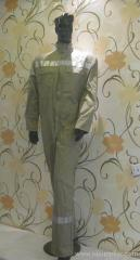 Grey CP FR coverall