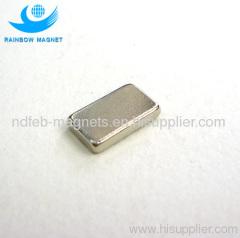 Neodymium Iron Boron Rectangular Block Magnet