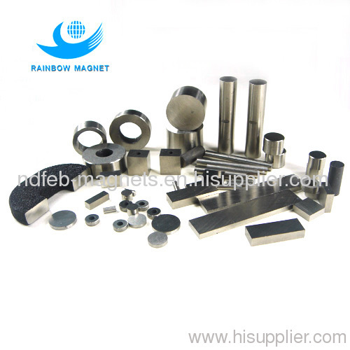 Strong Alnico magnets