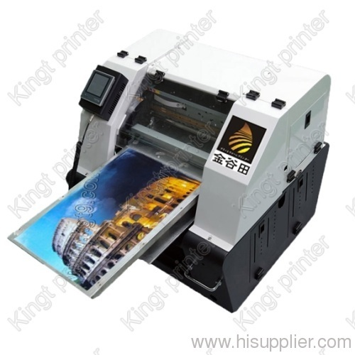 digital pvc card printer printing machine kingt flatbed pvc card printer pvc sheet - Plastic Card Printing Machine