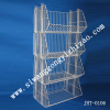 Galvanized supermarket exhibition stand