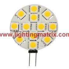 LED G4 Light 12x SMD5050 AC/DC8-30V IC Current Driver