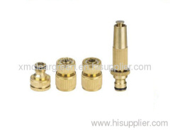 Brass Hose Nozzle Set