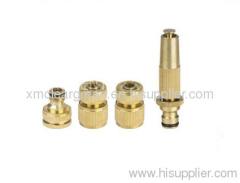 Brass Hose Nozzle Set