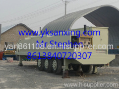 MIC K Span Steel Roof Buidling Machine