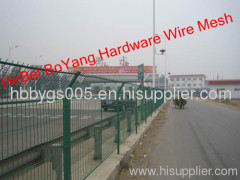 wire mesh fence highway fence